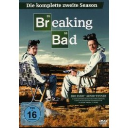 breaking bad 2.serie  DVD komplet set