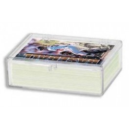 Plastová krabička na 50 ks kariet