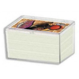 Plastová krabička na 100 ks kariet