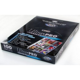 Ultra Pro Platinum - fólie pre 9 ks kariet - komplet balenie 100 ks