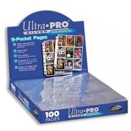Ultra Pro Silver - fólie pre 9 ks kariet - 1 ks