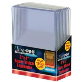 Ultra Pro Toploader 120pt - komplet 10 ks