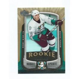 Anaheim - Dustin Penner - UD Rookie Update 2005