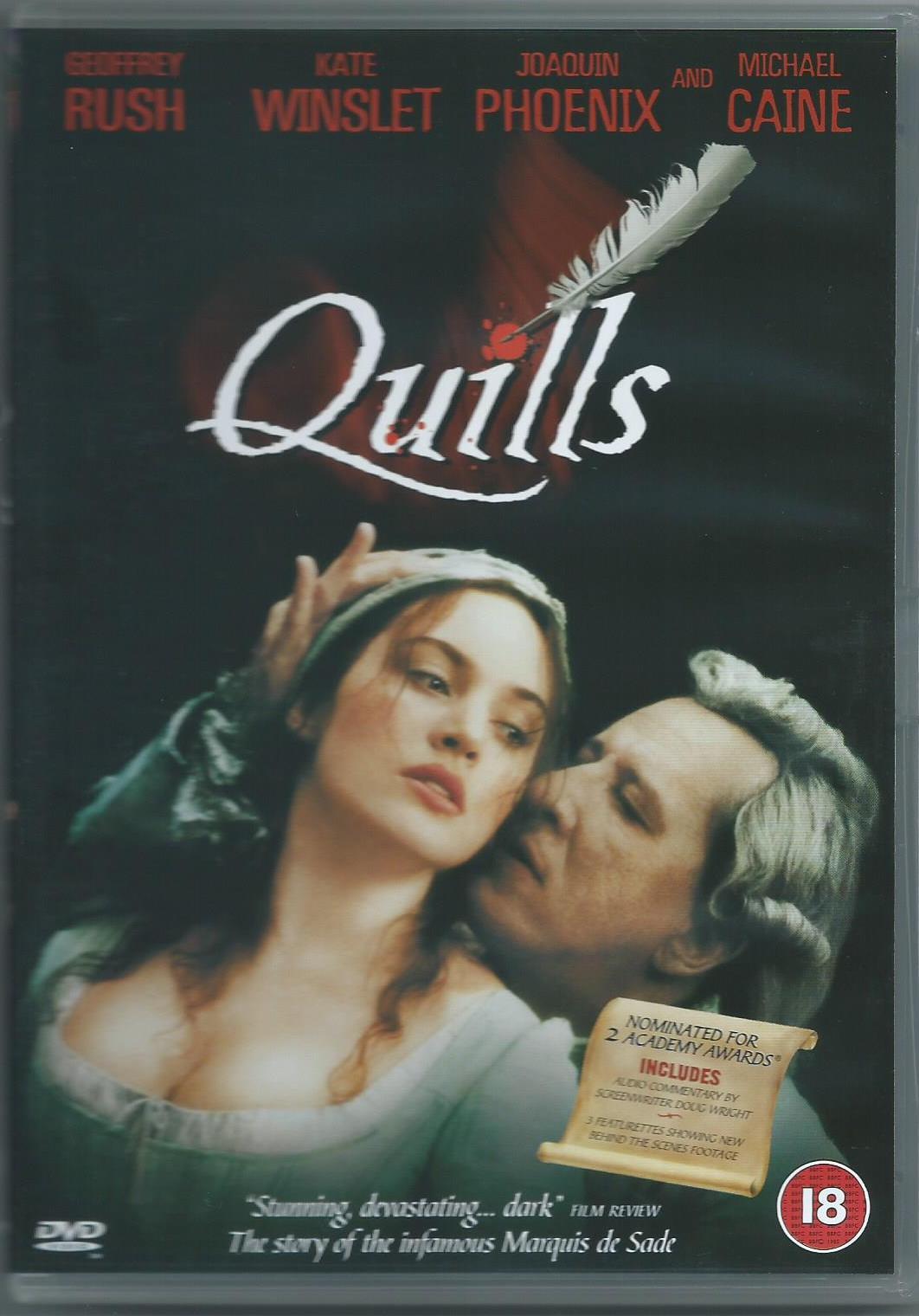 Quills - perom Markíza de Sade  DVD