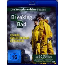 Breaking bad 3.serie  BRD komplet set