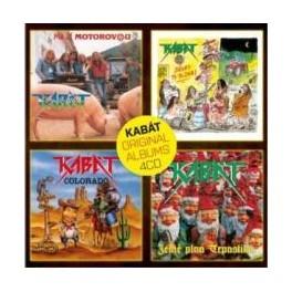 Kabát - classic albums vol. 1 4CD box - fantasy-shop 74034602293