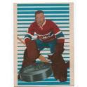 Montreal - Lorne Worsley - Autograph puck - Parkhurst 2001-02