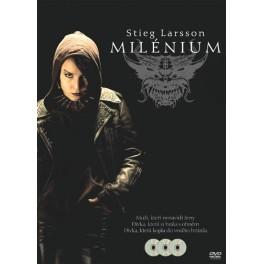 Millenium 1. - 3. komplet trilogy  3DVD box