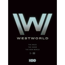 Westworld - komplet 1. - 3. serie  DVD set