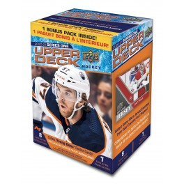 2020-21  Upper Deck serie 1. blaster pack